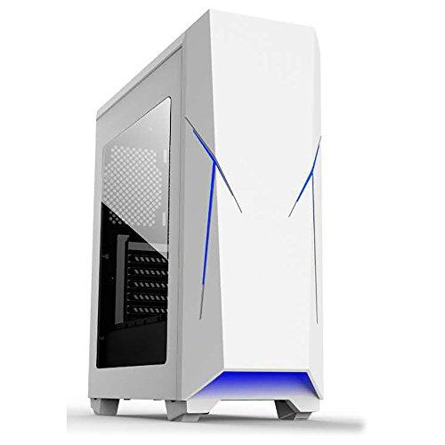 Talius Caja ATX Gaming Xentinel- USB 3.0 - USB 2.0 - Sin Fuente - Blanca