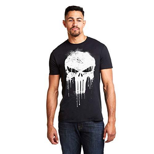Avengers Punisher Skull Camiseta para Hombre
