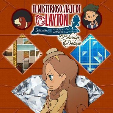 EL MISTERIOSO VIAJE DE LAYTON™: Katrielle y la conspiración de los millonarios - Edición Deluxe Nintendo Switch