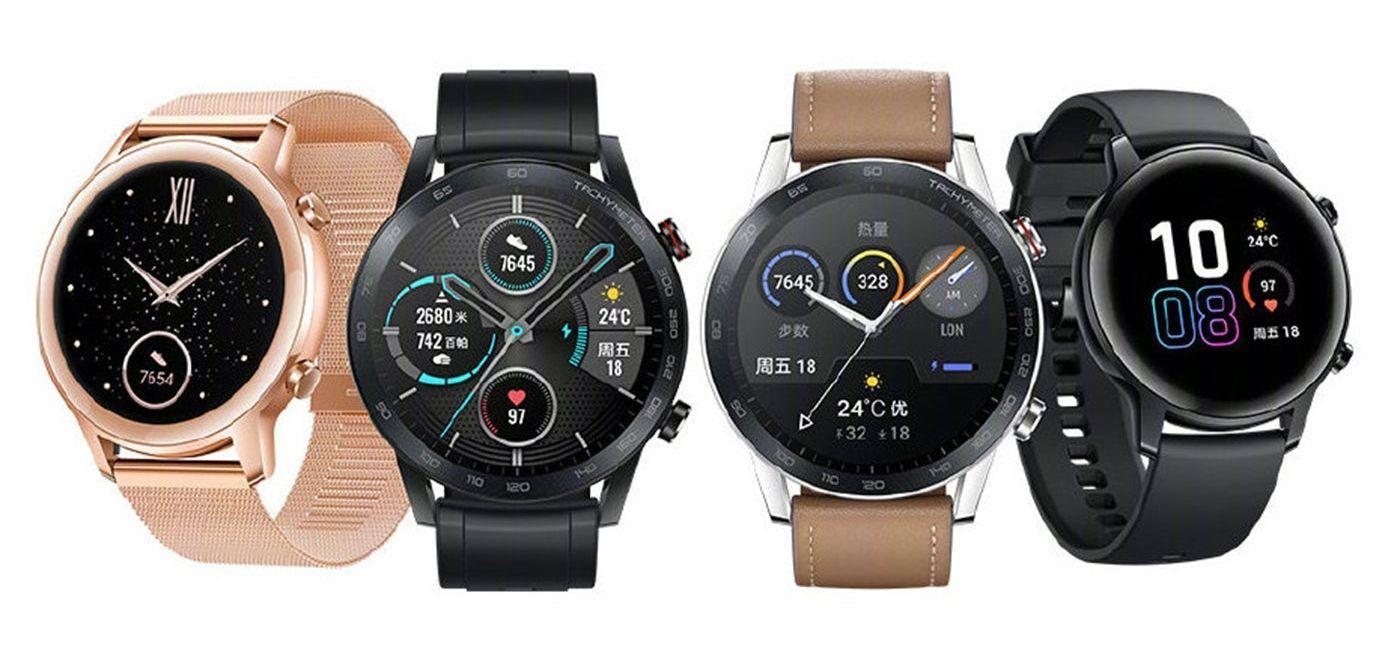 Recopilatiorio de oferta para 7 smartwatches Honor