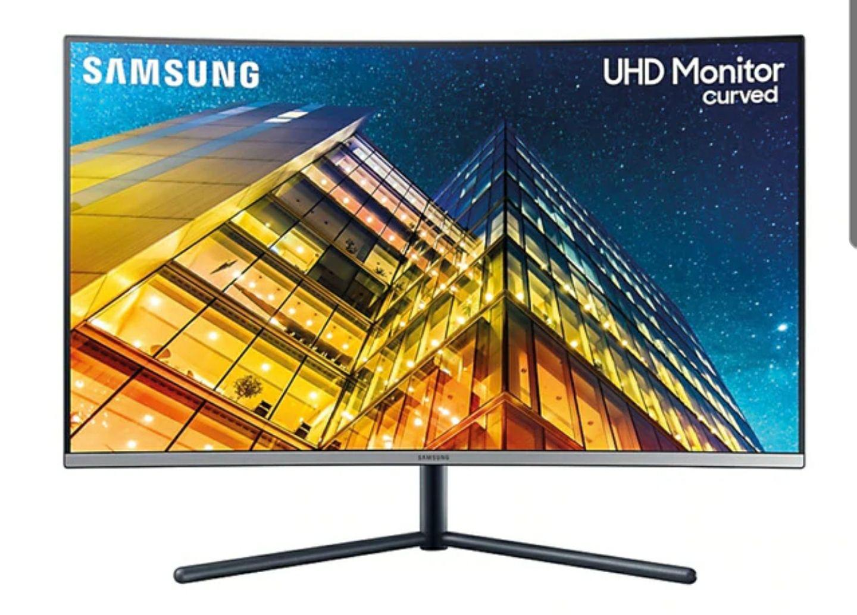 """Monitor curvo (31,5"""") Samsung LU32R590 UHD 4K"""