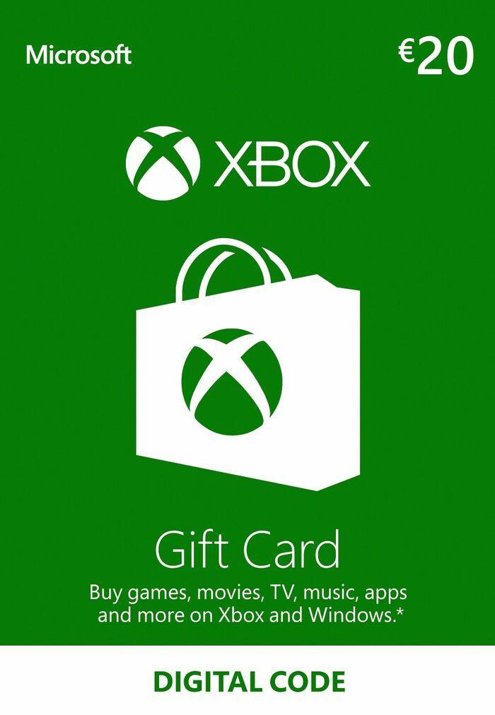 Tarjeta regalo Xbox Live 20 EUR | EUROPA
