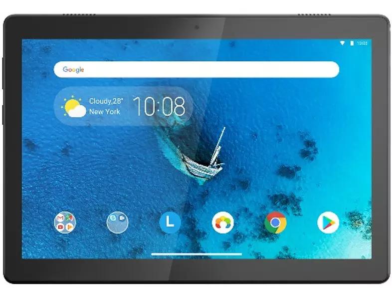 "Tablet - Lenovo Tab M10, 32 GB, Negro, WiFi, 10.1"" HD, 2 GB RAM, Snapdragon 429, Android"