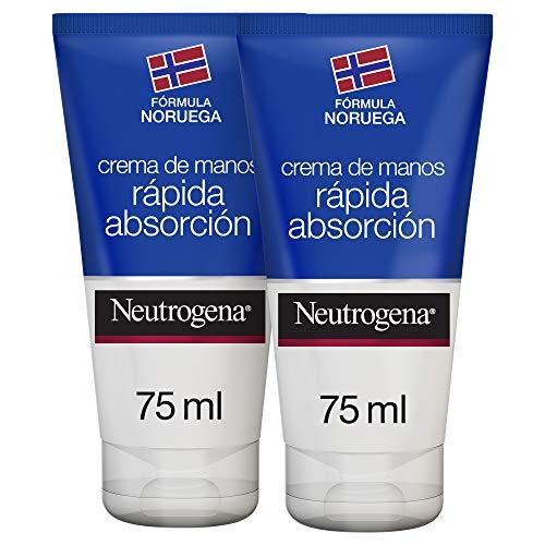Neutrogena Crema De Manos Rápida Absorción - 2 Unidades