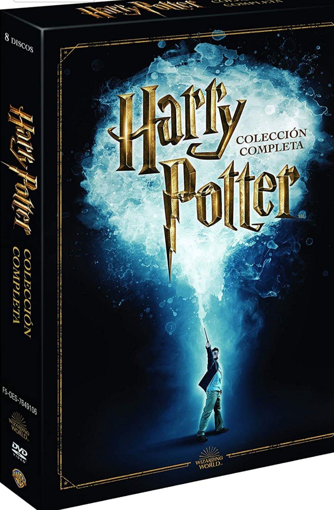 Harry Potter Colección Completa (formato DVD)