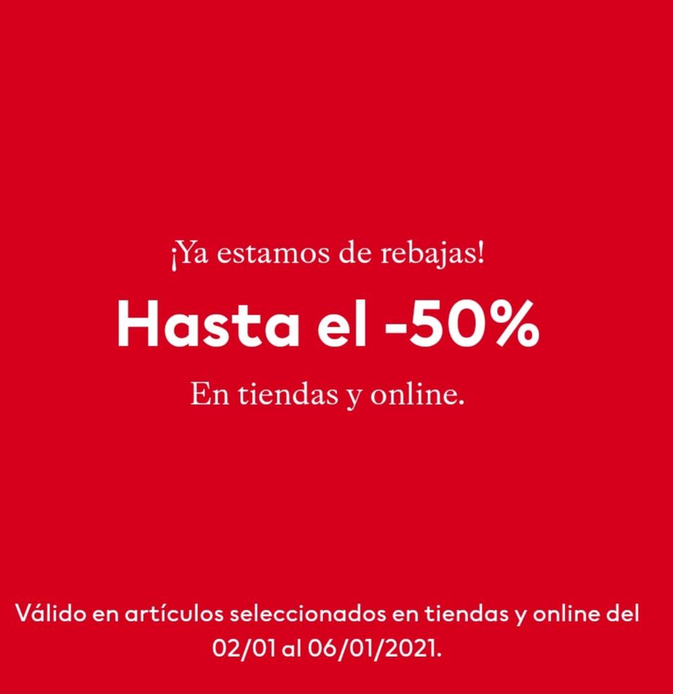 Rebajas en H&M hasta 50% de descuento + 10% extra en un articulo rebajado si eres miembro del club