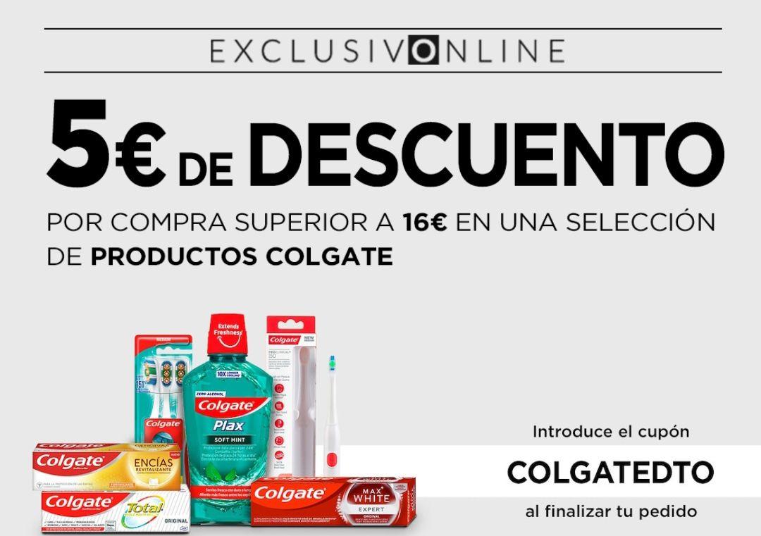 Recopilación de descuentos en productos de Colgate, Nestlé, Campofrío, Sanex, etc, en Hipercor