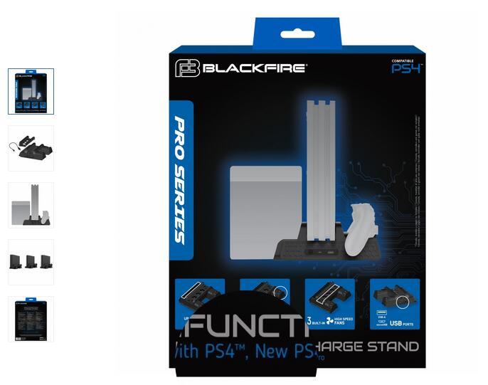 Cargador Blackfire Multifuncion para PS4