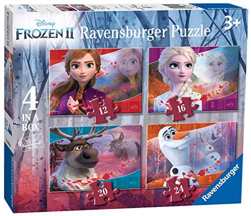 Pack 4 puzzles Frozen
