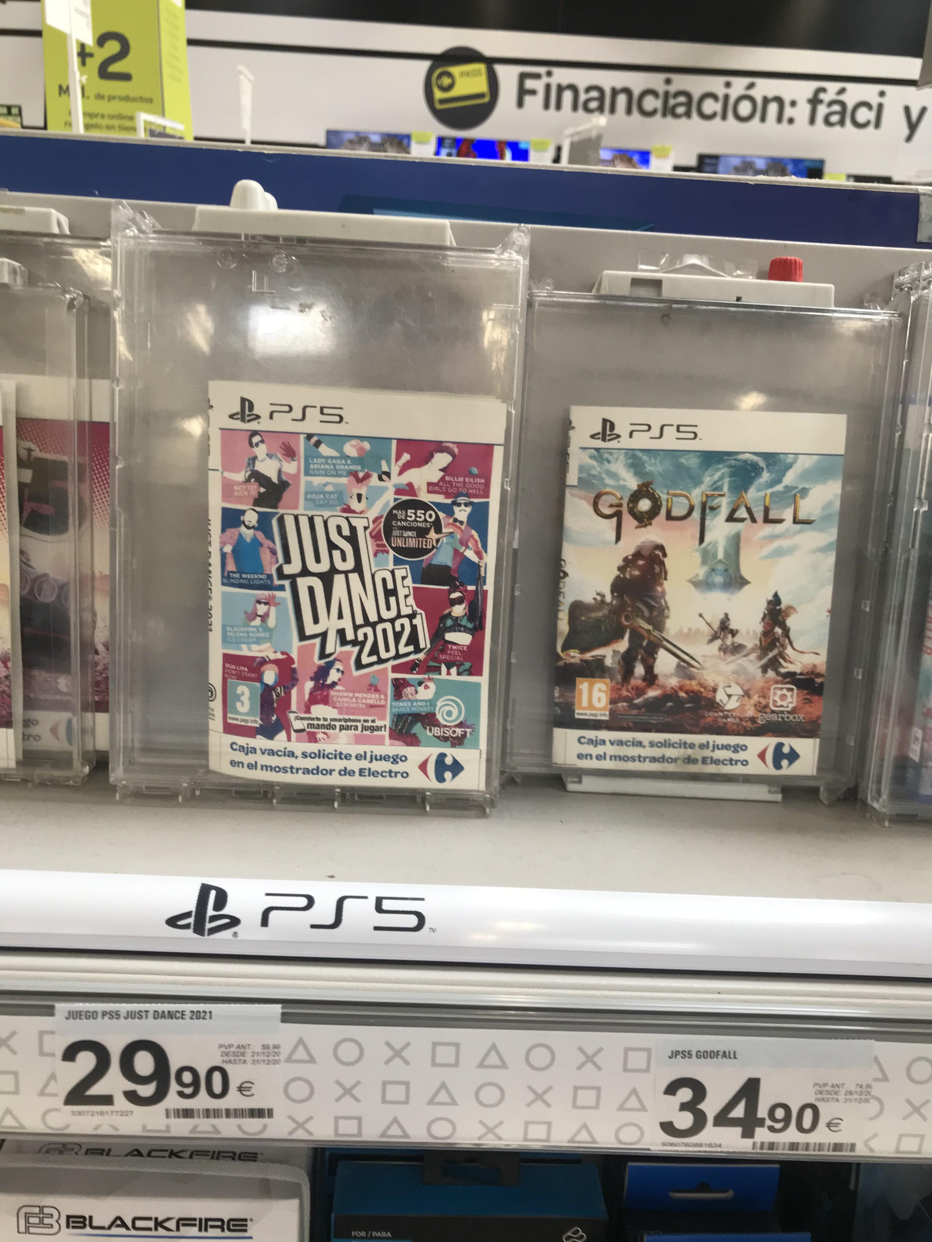 Varios juegos PS5 a buen precio (Sevilla)