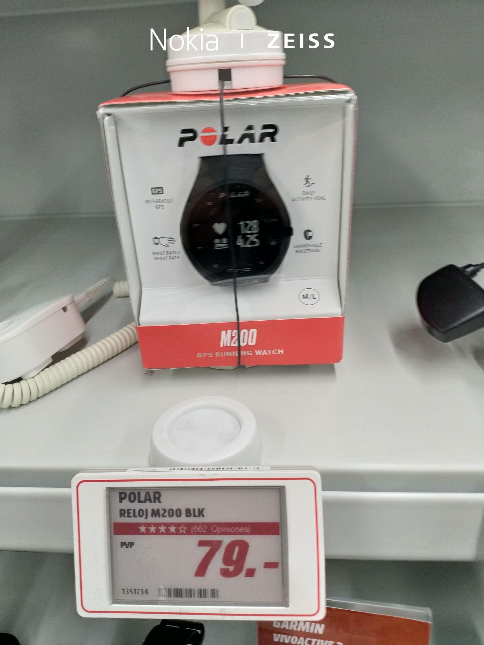polar m200 en Mediamark por 79 euros