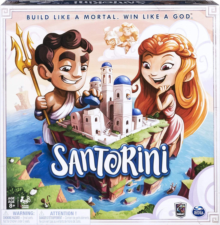 Spin Master- Santorini Gordon Hamilton Board Game (6040699)