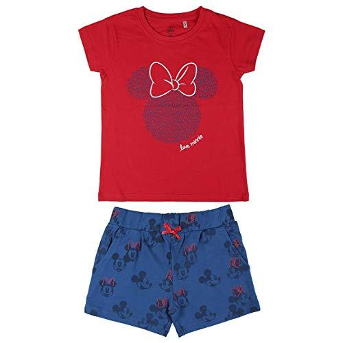 Minnie Mouse | Pijama Minnie Mouse Niña - 100% Algodón - Juego de pijama Niñas