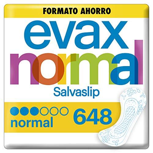 Evax Salvaslip Normal Protegeslips 648 Unidades