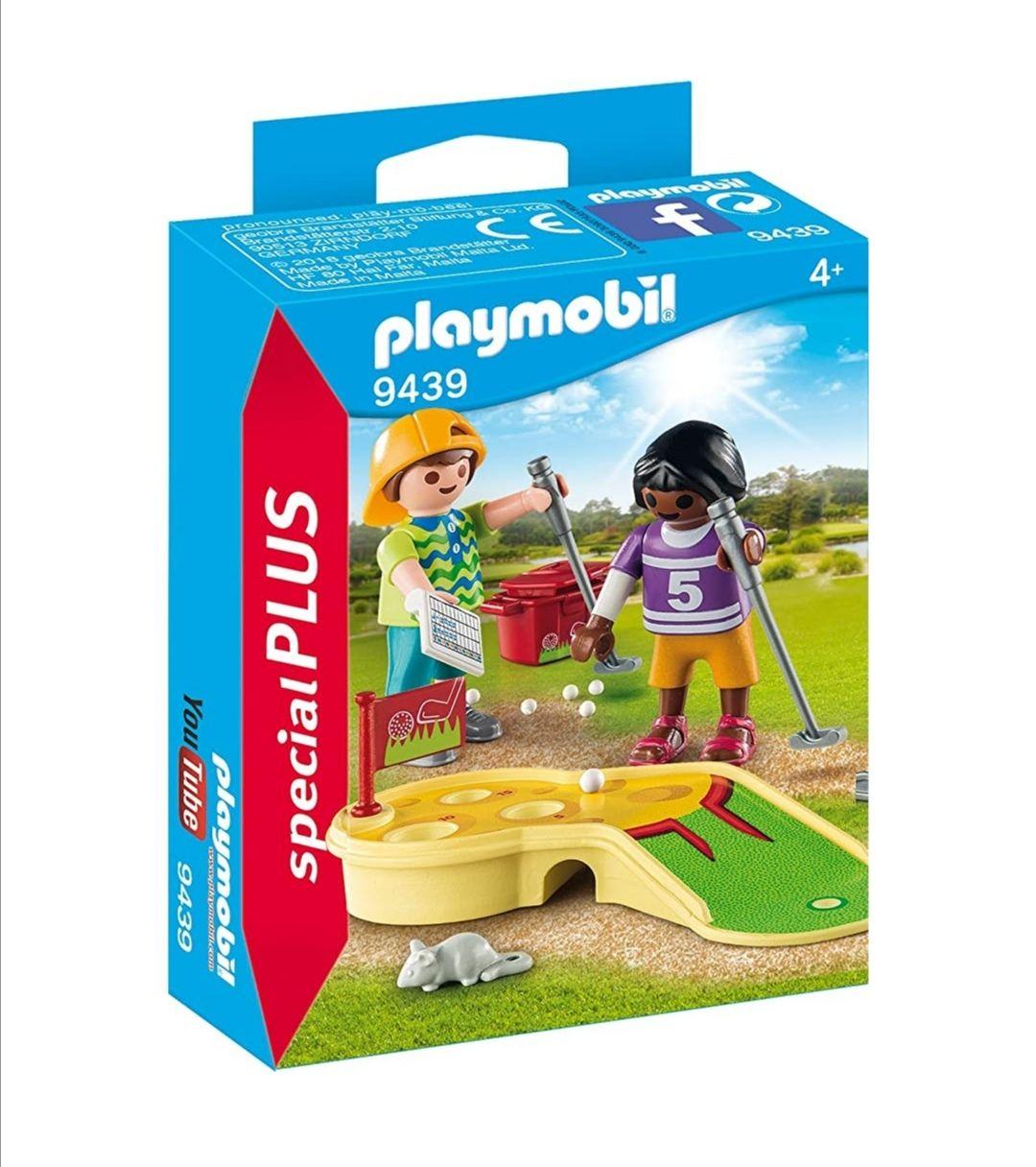 Playmobil mini golf special plus