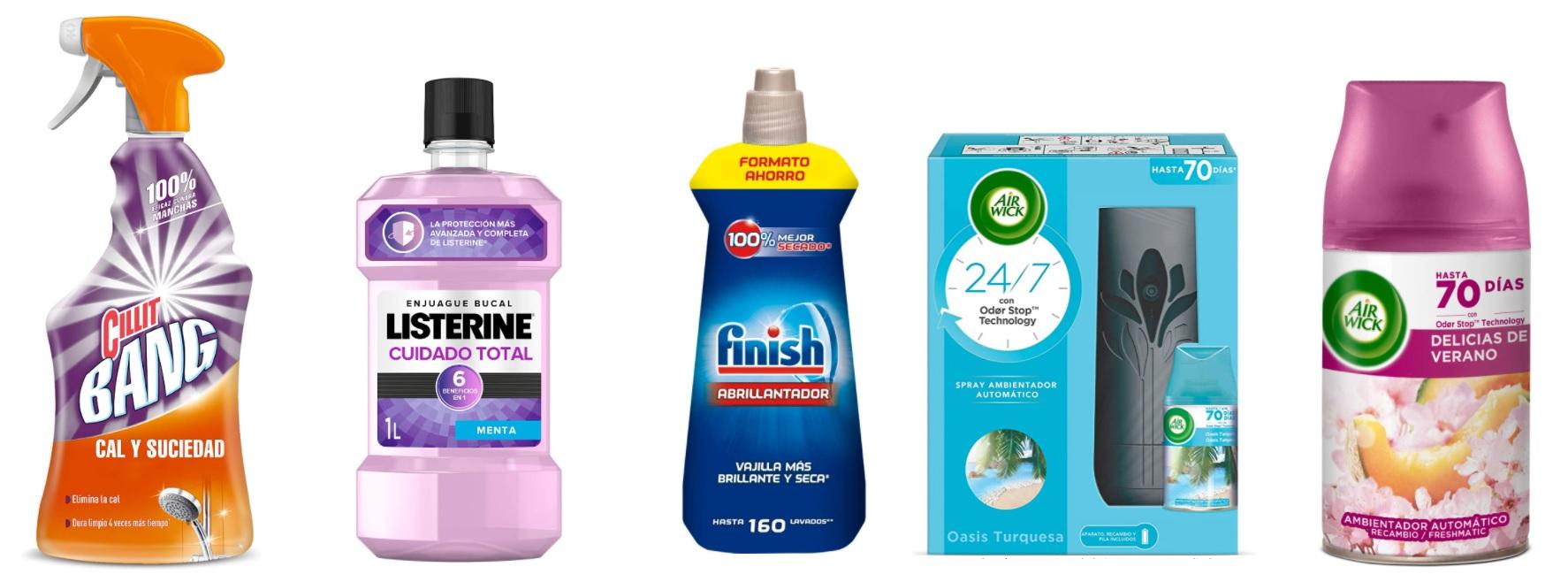 Mas 3x2! Productos de higiene y limpieza (Pagina nueva..)