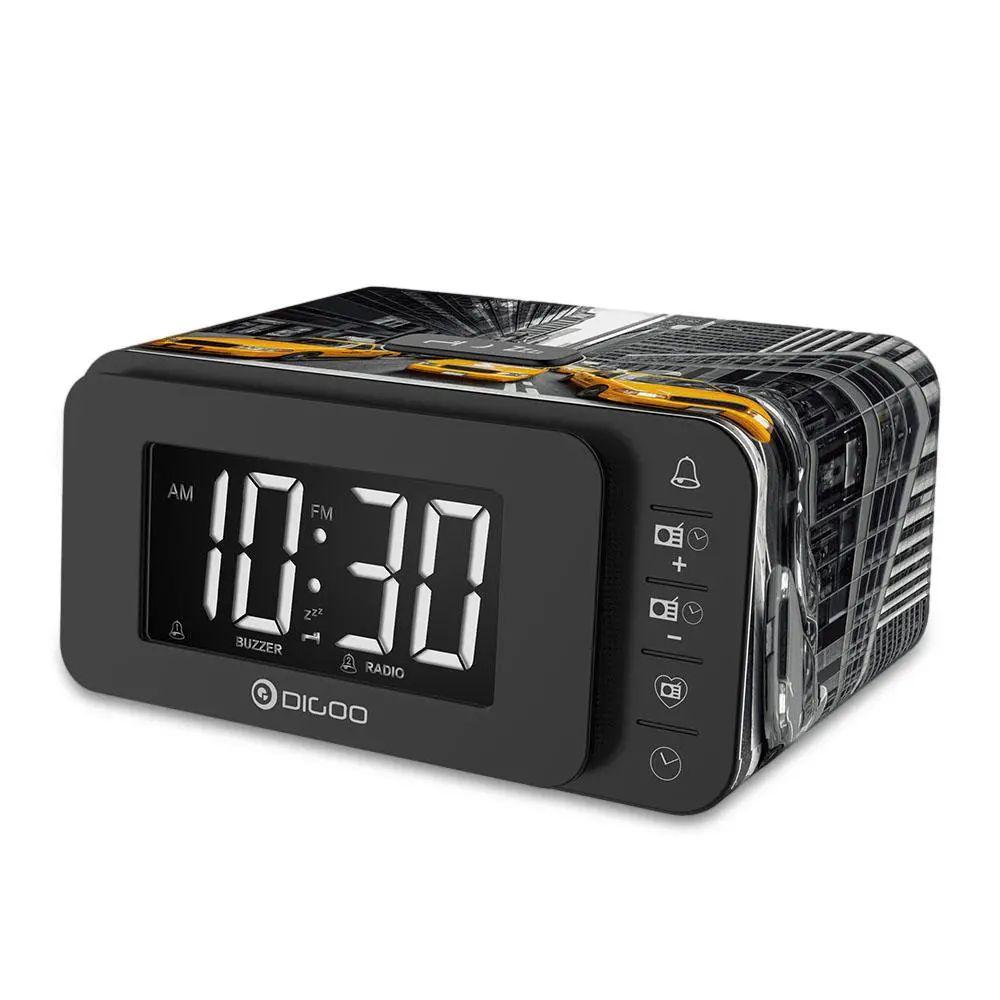 Despertador,altavoz,radio fm y cargador