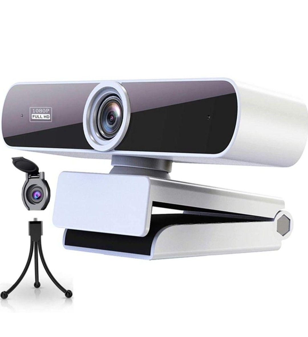 Webcam 1080P con Microfono para PC