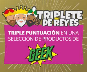 Oferta Triplete GAME - X3 puntos GAME en Merchandising (Productos seleccionados)