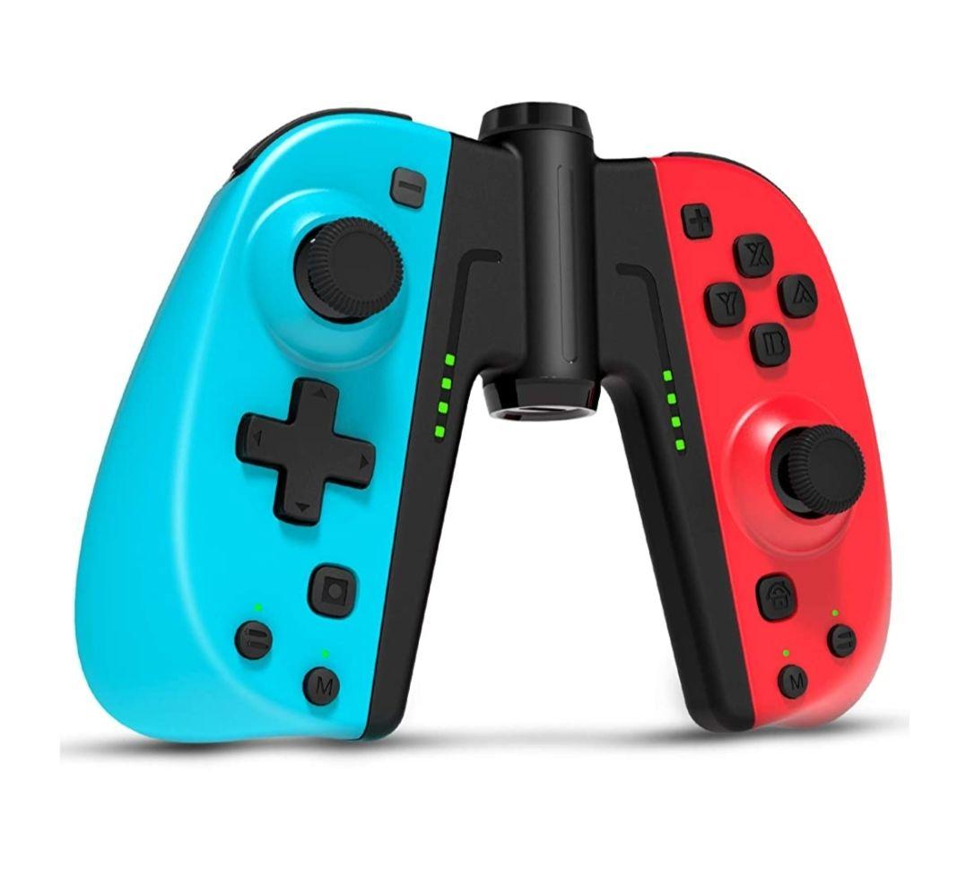 Gamory Mando para Nintendo Switch, Bluetooth Inalámbrico Gamepad