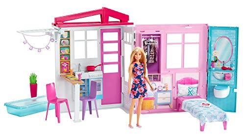 Barbie - Casa amueblada pleglable