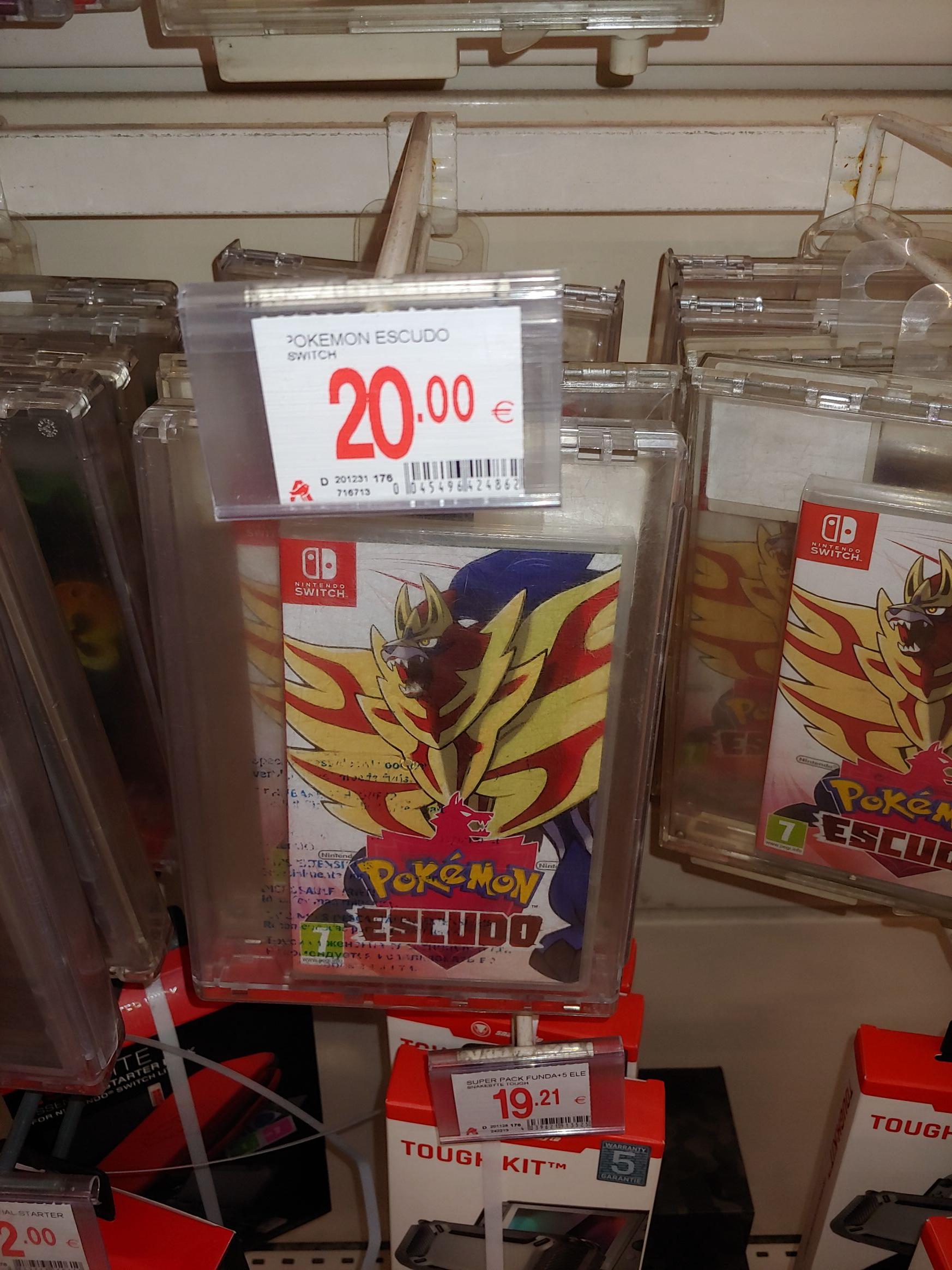 Pokemon Escudo Nintendo Switch Alcampo Alicante