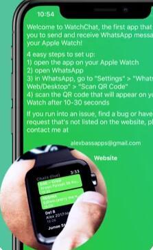 WatchChat 2: Whatsapp en tu Apple Watch
