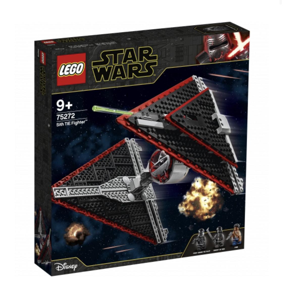 Lego Caza TIE Sith 59,9€ + cheque de 23,96€