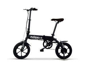 "Nilox ebike X2 Plus Bicicleta eléctrica plegable Ruedas 16""; Adulto"