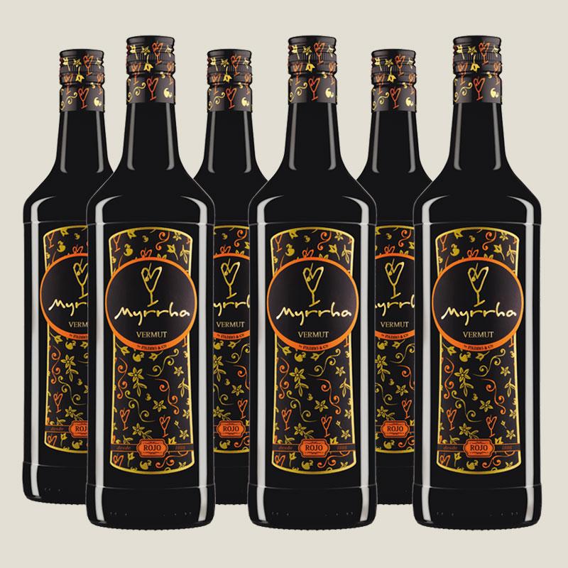 Vermut Myrrha Rojo tradicional 6 litros