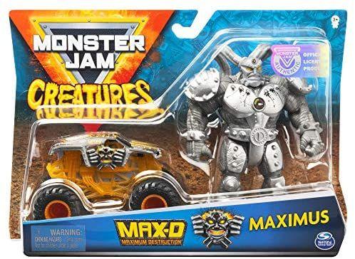 Monster Jam Die Cast con figura