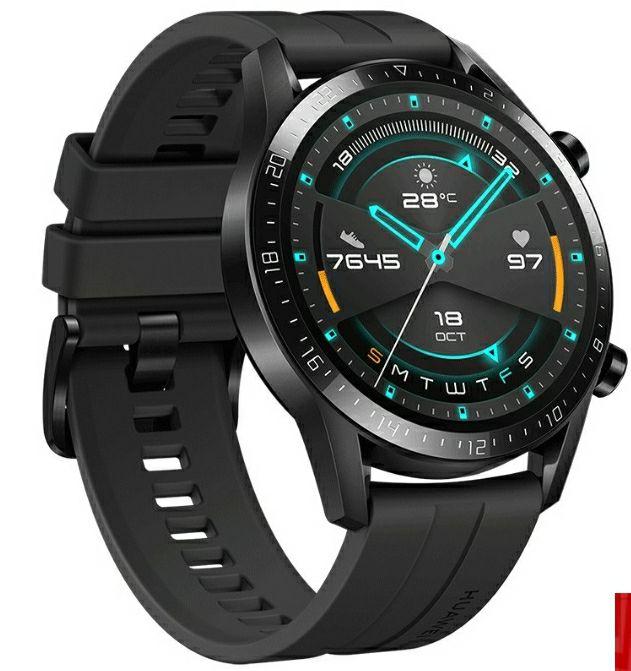 Huawei Watch GT2 sport Latona-B19s Deporte 46mm - Negro Mate