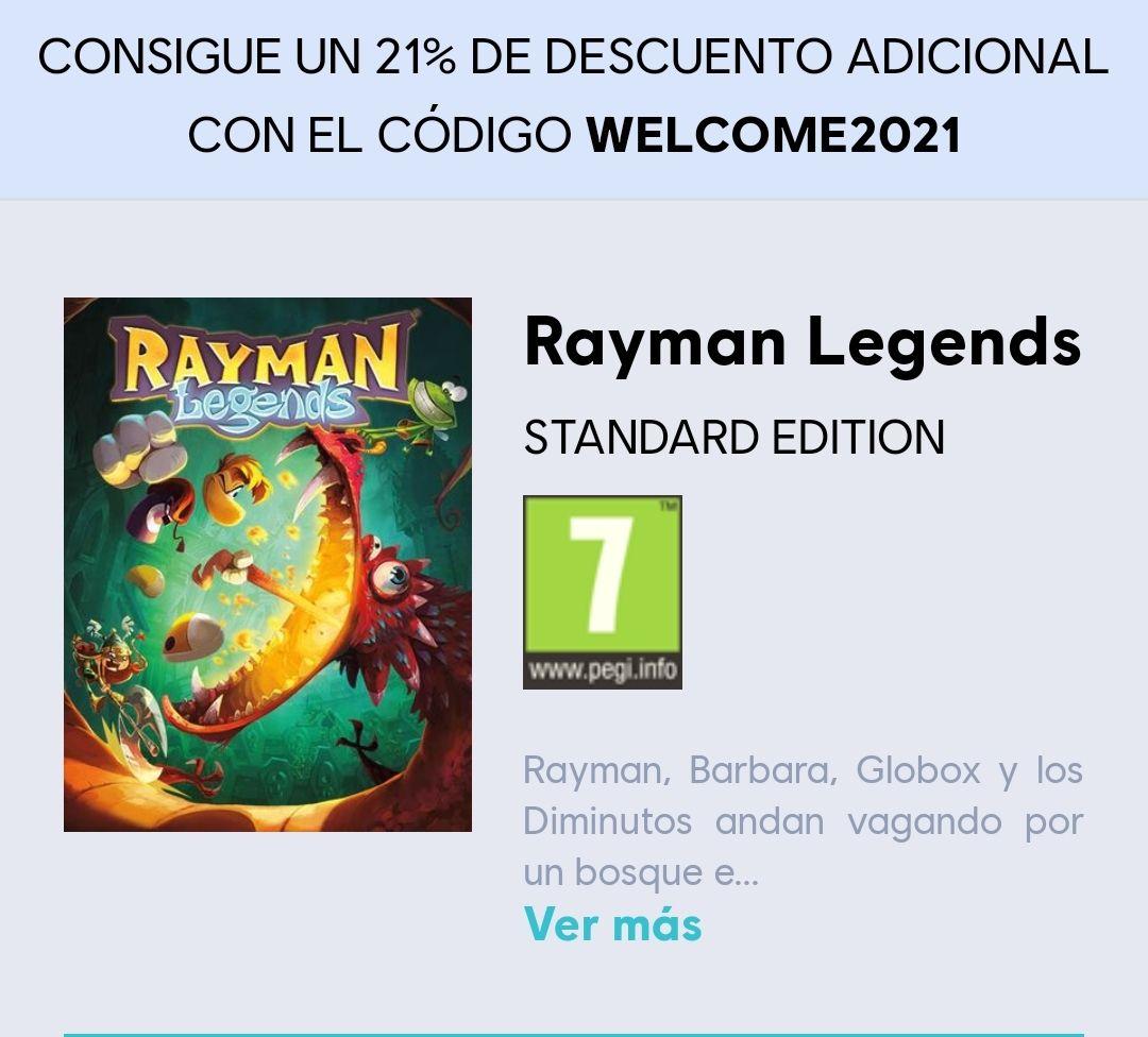 Rayman legends Standard edition