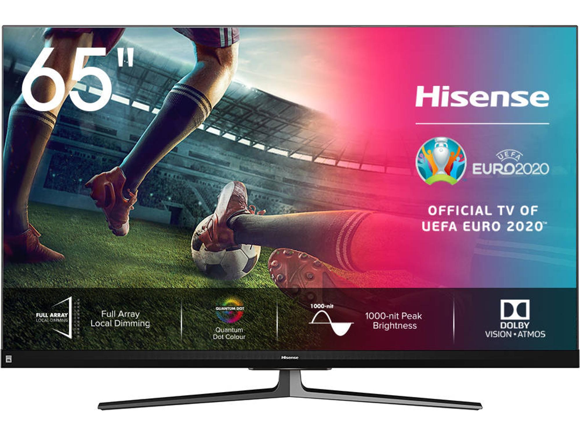"""Hisense TV LED 65"""" 4K Dolby Vision, Dolby Atmos, Full Array Y Smart TV 65U8QF"""