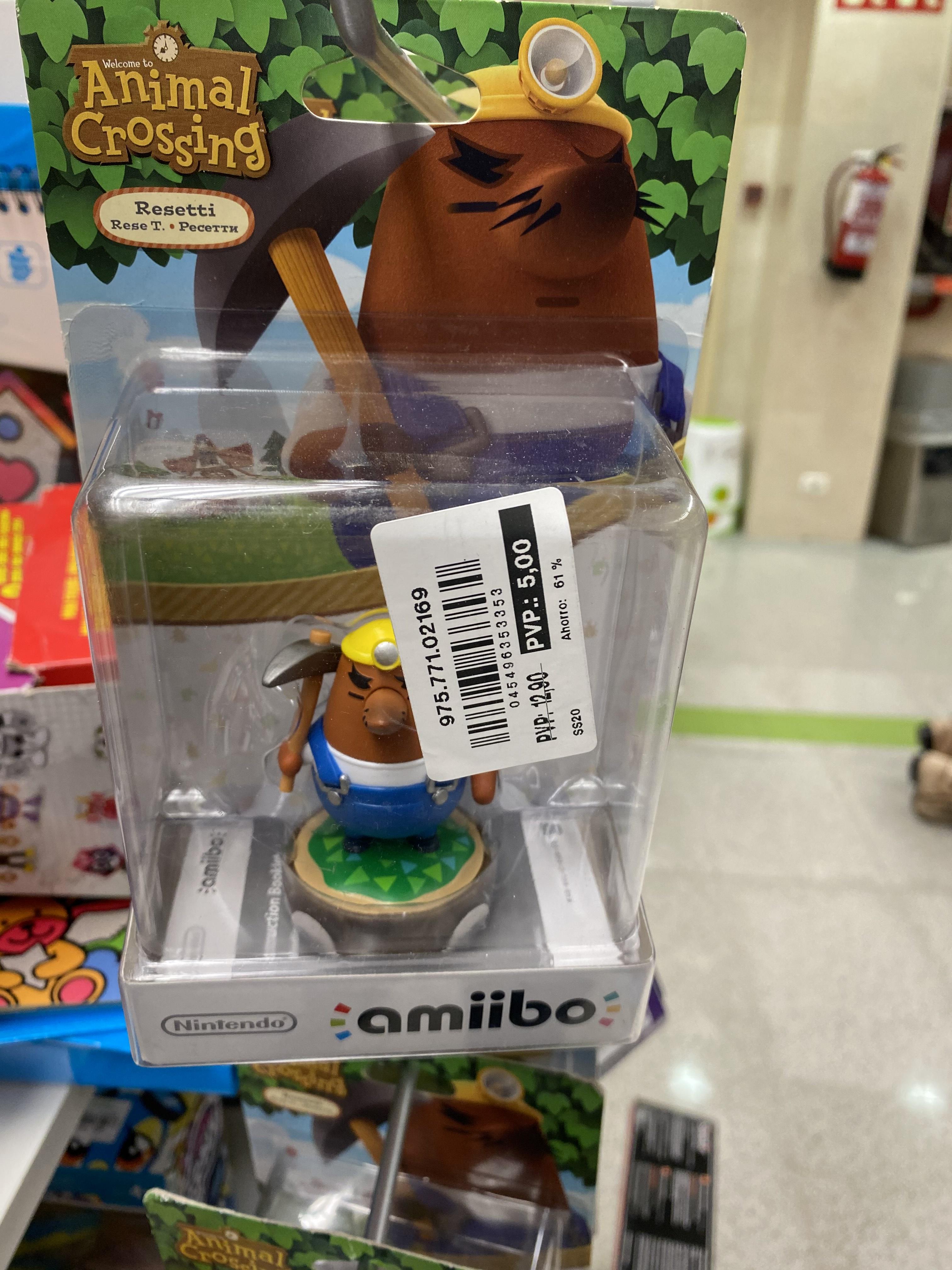 Amiibo Animal Crossing (Outlet ECI Torremolinos)