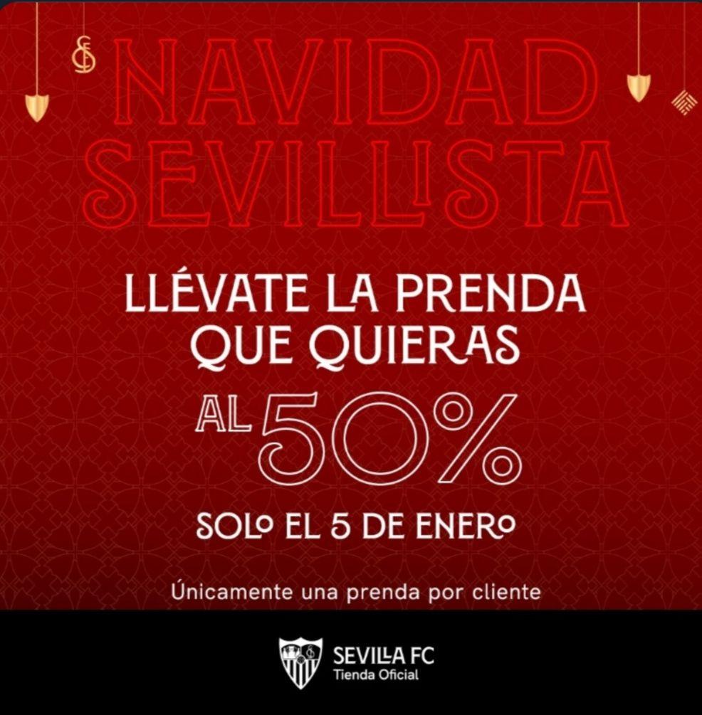 Navidad Sevillista Todo al 50%