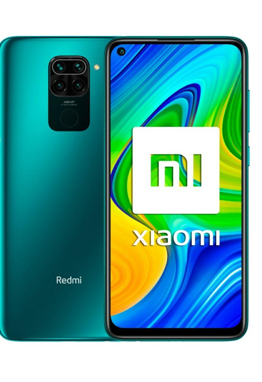 Xiaomi Redmi Note 9, 3GB + 64 GB Forest Green móvil