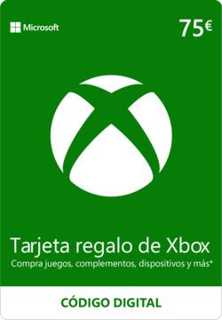 CholloTarjetas saldo Xbox de (75€ por 57)