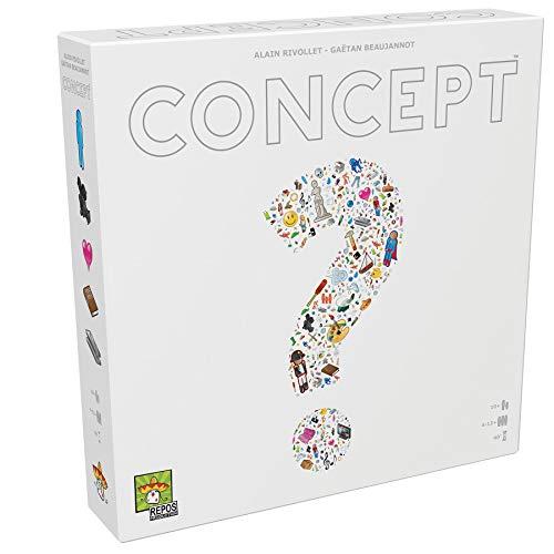 Juego de mesa Concept – ¡Adivina Cientos de Objetos, Personajes y títulos al Combinar Iconos universales