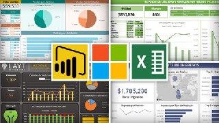 [ESP] Curso Excel y Power BI – Análisis y Visualización de Datos. Curso Gratis.
