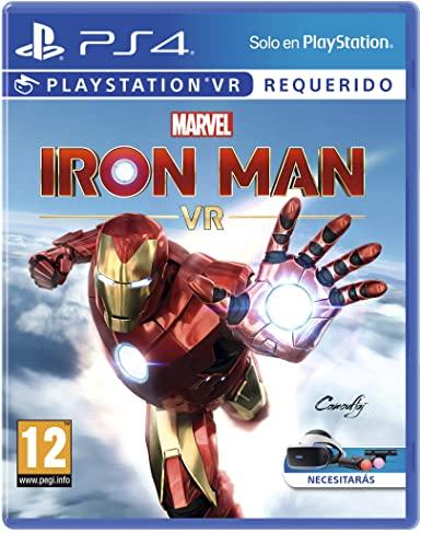 Marvel's Iron Man VR para PlayStation 4 (AlCampo Madrid)