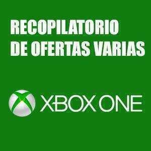 XBOX :: Recopilación ofertas de la semana (Packs, Xbox One, XBOX 360 y Windows)