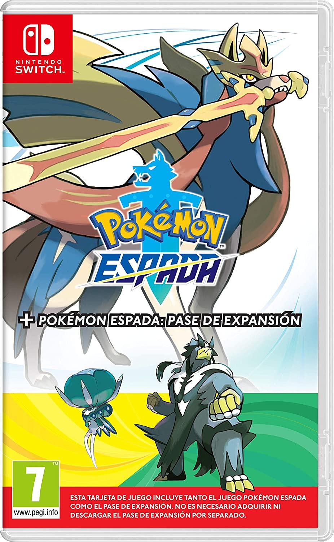Pokémon Espada o Escudo + Pase de Expansión