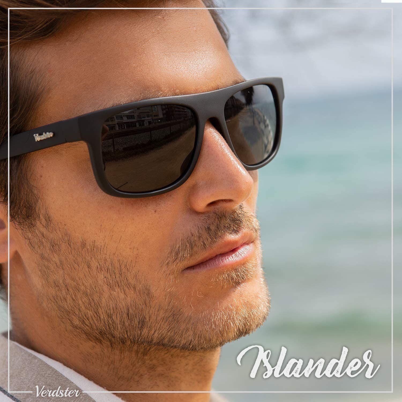 Islander – Gafas de Sol Clásicas de Espejo Anchas para Hombre & Mujer Accesorios Incluidos