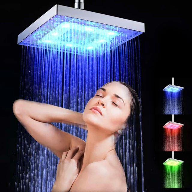 Cabezal para la ducha RGB