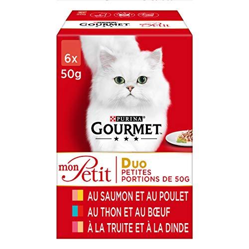 Purina Mon petit duo gatos, 48 x 50g