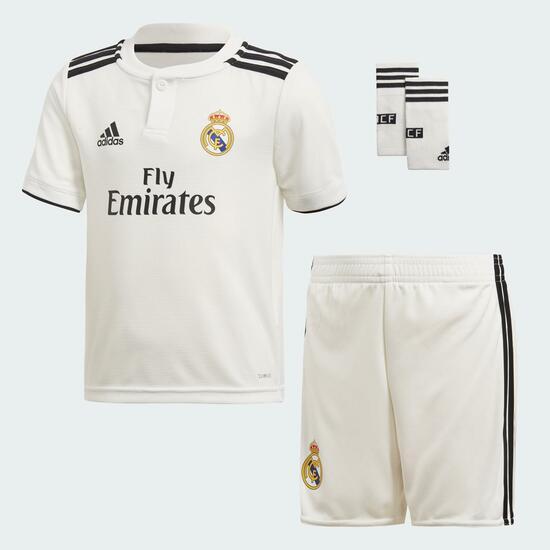 Equipación Real Madrid para niños (Talla 14)