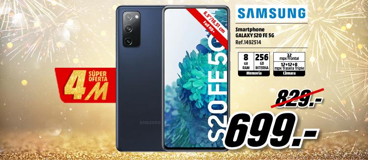 Samsung S20 FE 5G 256 GB Azul