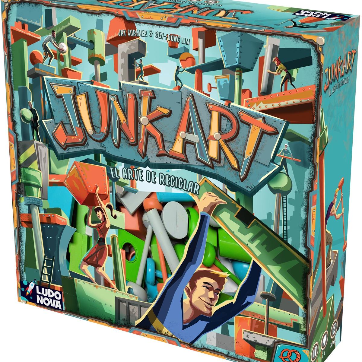 Junk Art juego de mesa de habilidad