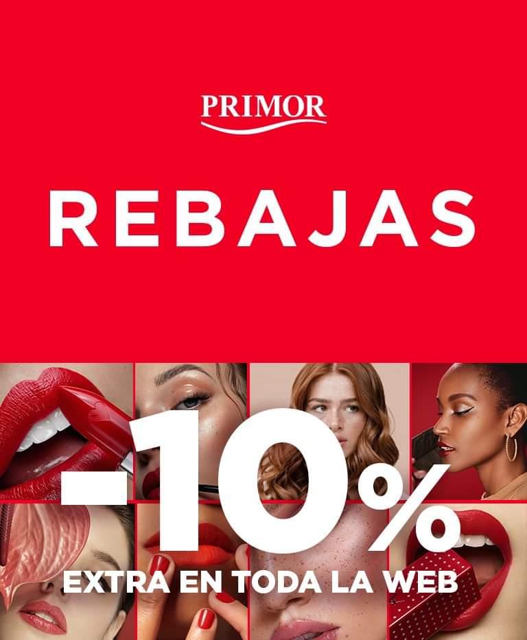 10% de descuento en *toda la web de Primor